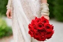 bukiet ślubny- klasyczne czerwone róże ;)
