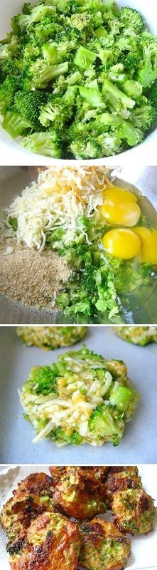kotleciki z brokuł :)
