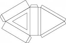 trójkątny szablon