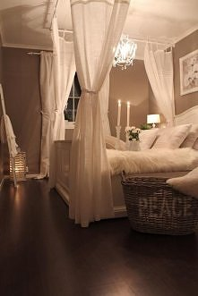 sypialnia w beżu