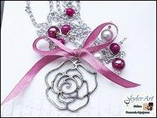 Wisior róża