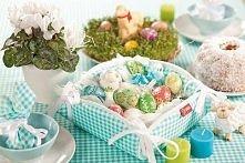 Wielkanoc: dekoracje stołu