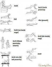 Pośladki, uda, piersi, brzuch i boczki - jeden zestaw ćwiczeń na wszystko!