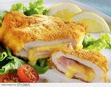 Filety z kurczaka w stylu francuskim  Składniki na 4 porcje: - 2 filety z kur...