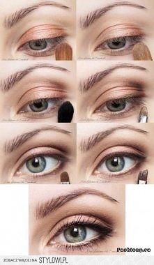Lekki makijaż