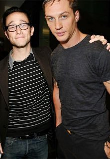 Joseph Gordon-Levitt and Tom Hardy