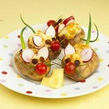 myszki z ziemniaków