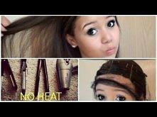 Proste włosy= 0 ciepła!