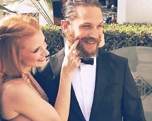 Tom Hardy and Jessica Chastain