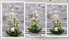 Kompozycja Dekoracja Kwiaty