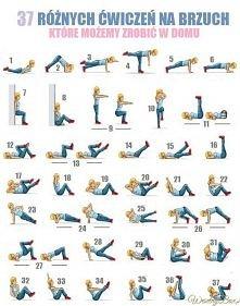 37 ćwiczeń na brzuch, które...