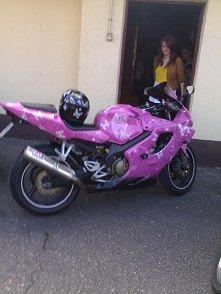 To najbardziej kobiecy moto...
