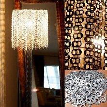 diy, diy projects, diy craft, handmade, diy pop ring tab chandelier