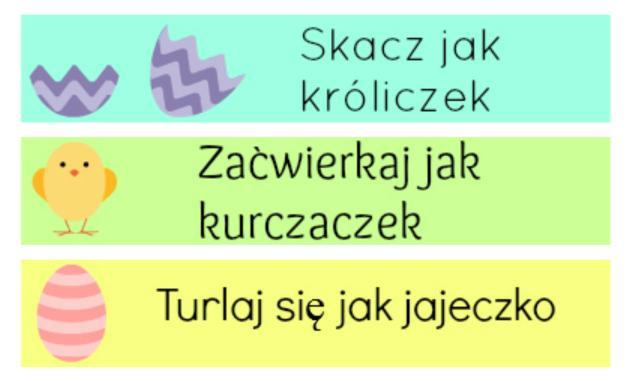 wielkanocne zabawy dla dzieci - rożne propozycje na Wielkanoc - Zszywka.pl