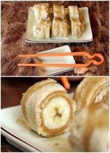 bananowe sushi