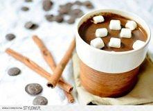 Zimowe kakao z cynamonem miodem i imbirem Potrzebujesz: 200 ml mleka, 100 ml ...