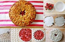 diy, diy projects, diy craft, handmade, diy strawberry heart pie