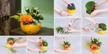 diy, diy projects, diy craft, handmade, diy flower bowl
