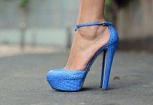 blue snake print..