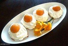 """Ciastka """"jajka sadzone..."""