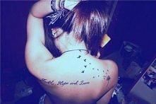 na plecach tatuaż ♥ !!!