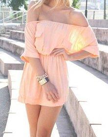 różowa lekka sukienka <3 love it
