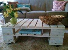 Drewniane palety handmade diy