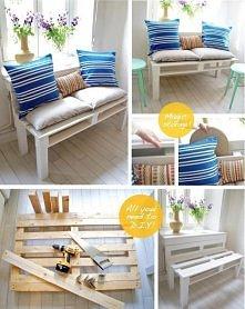 Drewniane palety pomysł