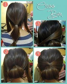 diy, diy projects, diy craft, handmade, diy cross bun hairstyle
