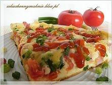 Pizza chłopska z patelni (przepis po kliknięciu w zdjęcie).