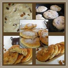 Placuszki biszkoptowe z serem i rodzynkami (przepis po kliknięciu w zdjęcie).