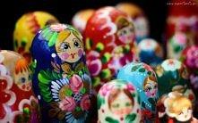 Dekoracja, Rosyjskie, Babuszki