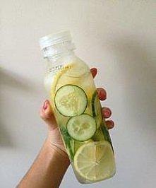 woda + cytryna + ogórek = energia + zdrowie + uroda ;)