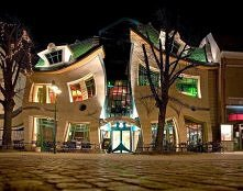 Krzywy Domek (Crooked House) in Sopot, Poland.