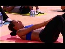 Mel B- 10 minutowy trening brzucha