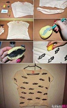 DIY printed t-shirt
