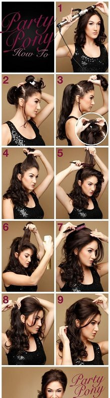 diy, diy projects, diy craft, handmade, diy party pony hairstyle