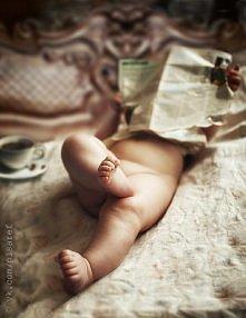 Gdyby dało się zrobić takie zdjęcie niemowlakowi :)