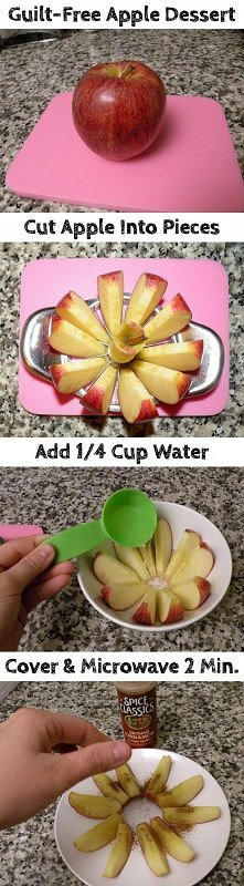 diy, diy projects, diy craft, handmade, diy guilt free apple dessert