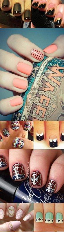 Dziewczyny, to naprawde relewacyjny zbiór manicure na każdy dzień! wow