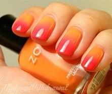 Czerwono-Pomarańczowe. Piękne : )