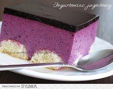Ciasto jagodowo - jogurtowe...