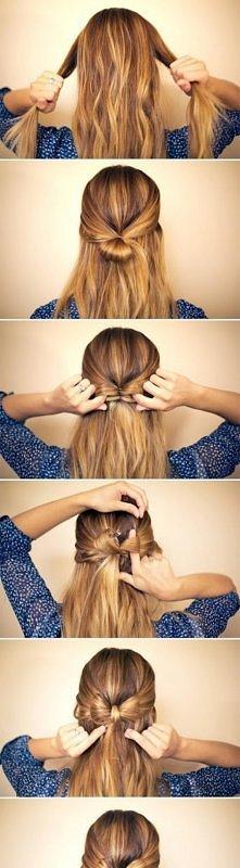 fashion, diy fashion projects, diy fashion ideas, diy fashion tips, siy elegant bow braided hairstyle