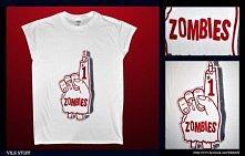 T-shirt ręcznie malowany! Vile Stuff ;)