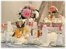 dekoracja stołu weselnego