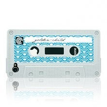 iPhone 4/4S Case Waves Blue by GOLDEN CHILD