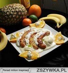 Smażone banany  Składniki: ...