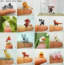 miniaturowe zwierzątka