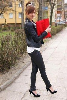 black, red, white & spi...