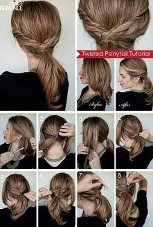 fashion, diy fashion projects, diy fashion ideas, diy fashion tips, diy twisted ponytail hairstyle